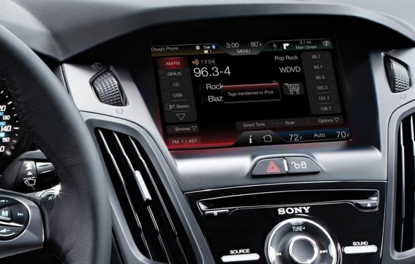 автоаккустика для ford focus 3